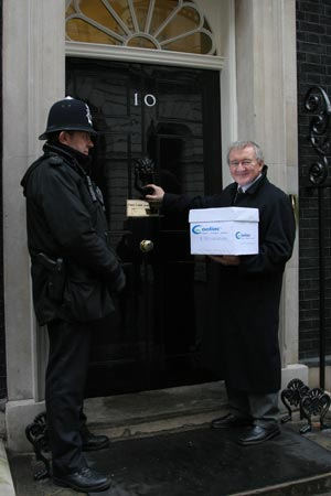 Dr Chris Steele at 10 Downing St