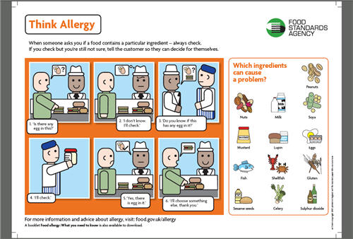 FSA Allergy Poster