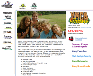 summer camp michigan