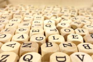 A gluten free alphabet