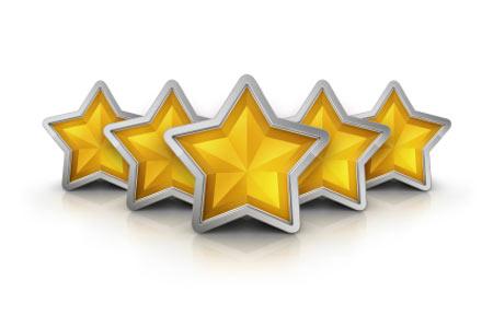 five-gold-stars