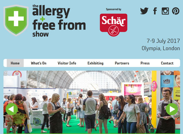 allergy and free from show 2016