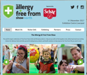 Allergy and Free From Fair North 2017