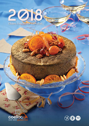 Coeliac UK calendar 2018