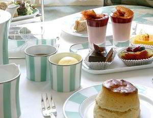 invitation to afternoon tea at Claridges from Genius