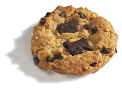 Dr Lucy's chocolate chip cookie