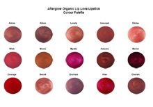 afterglow lipstick colours - gluten free