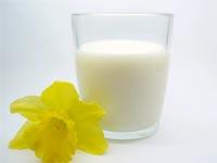 Milk - lots of calcium