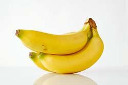 Bananas are a good source of B6