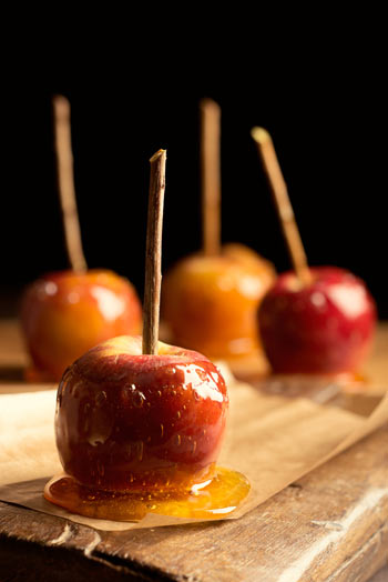 toffee-apples