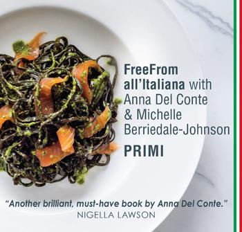cookery books - freefrom all'italiana