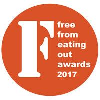 gluten free restaurant award winners uk